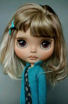 Pretty Dolls, Beautiful Dolls, Ooak Dolls, Blythe Dolls, Valley Of The Dolls, Little Doll, Doll Repaint, Custom Dolls, Ball Jointed Dolls