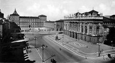 1943 #Torino #Palazzo Reale © Copyright www.mepiemont.net