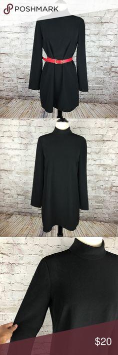 "Women's Zara  Women Black  Dress Size Medium Women's Zara  Women Black  Dress Size Medium.            Armpit to armpit: 19"" Length: 33""  Super cute little black dress that's super versatile. A must have in your closet!! Zara Dresses Long Sleeve"