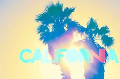 Best state in the whole land! California California, Next Chapter, West Coast, Palm Trees, Beverly Hills, To Go, Bucket, Neon Signs, Camping