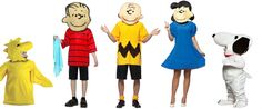 J as Charlie Brown and N as Snoopy or the bird. Maybe I dress up as Lucy!