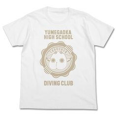 Amanchu! Cha-komon T-shirt (WHITE) (L)