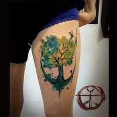Cool And Colorful Tattoo That Will Inspire You To Get Inked