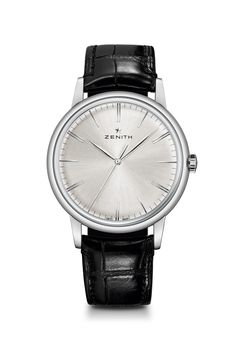 Zenith Elite 6150, 100 hours of power; in house movement, simple, beautiful.