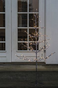 90 cm high LED Tree Alex, with elegants lighs from Sirius. Buy at Sirius Home Webshop. Christmas Lights, Christmas Decorations, Led Tree, Luminaire Led, Chandelier, Windows, Ceiling Lights, Lighting, Cairo