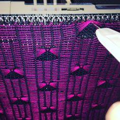 Lifted stitch slip stitch.