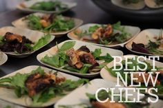Food & Wine's Best New Chefs served their dishes at this year's Classic in Aspen! #fwclassic #bnc2012