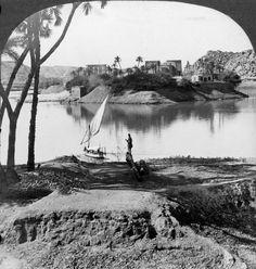 The island of Philae, Egypt by Underwood & Underwood