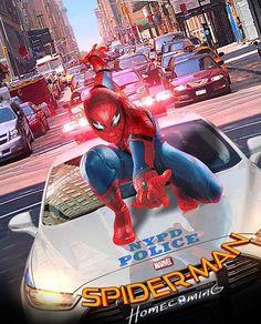 Spider-Man - visit to grab an unforgettable cool 3D Super Hero T-Shirt!