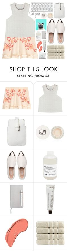 """""""idk"""" by igedesubawa ❤ liked on Polyvore featuring Shakuhachi, Mossimo, Topshop, Miu Miu, Davines, ICE London, Korres, NYX, Christy and Sephora Collection"""