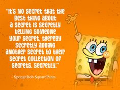 Inspirational Spongebob Quotes intended for Inspire - Daily Quotes AnoukInvit Spongebob Sayings, Imagination Spongebob, Daily Quotes, Best Quotes, Happy Together, Spongebob Squarepants, Family Love, Funny Cartoons, Spongebob