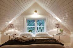 Attic Remodel Low Ceiling and Attic Apartment Living Room. Attic Loft, Loft Room, Bedroom Loft, Bedroom Decor, Dormer Bedroom, Attic Ladder, Attic House, Attic Office, Attic Playroom