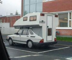 no longer available.... scandinavian crime drama *smile* a saab convertible campervan http://www.motorhome-travels.co.uk/