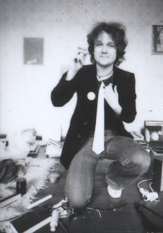 Ich, Boheme, 1977, Einzug Außenklowohnung 40 Mark Miete.