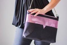 Wandelbare Tasche mit Raffinessen   BenisaS – Welt Gym Bag, Shoulder Bag, Fashion, Designer Bags, Bags Sewing, Sewing Patterns, Handbags, Handarbeit, Moda