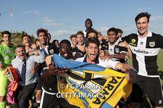 Gli allievi del Parma Calcio festeggiano il loro secondo scudetto: Campioni d'Italia nell'anno del centenario! http://fcparma.com/news/allievi-campioni-italia/