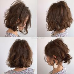Japanese hairstyle design has always had its characteristics. So today we have collected 65 kinds of Japanese Messy short hairstyles idea. Let's look for amazing hair inspiration. Messy Short Hair, Asian Short Hair, Wavy Hair, Japanese Short Hair, Cool Short Hairstyles, Permed Hairstyles, Hairstyle Short, Japanese Hairstyle, Hair Brush