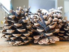 Make The Best Of What's Around: DIY Scented Pine Cones   The other day, my boys an...