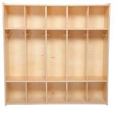 Contender C51200 (5) Section Locker Wood Designs https://www.amazon.com/dp/B00GTR2UXI/ref=cm_sw_r_pi_dp_x_TgmiAb676HZQ3