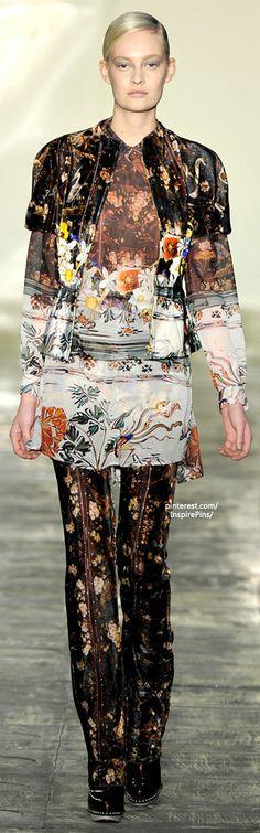 Mary Katrantzou -  #PurelyInspiration.    Wild fashion fun for a Saturday.....