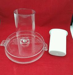 Hamilton Beach 702R Food Processor Part Lid and Pusher Only