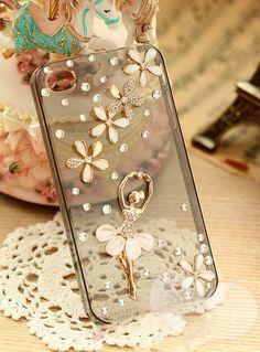 Transparent Plastic Resin Ballet Phone Case Cover Case Fit iPhone 4 s Plastic Resin, Iphone 4, Cell Phone Accessories, Ballet, Phone Cases, Dance, Fit, Cover, Dancing