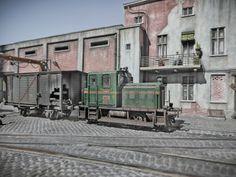 Train model HO