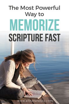 Learn how to memorize Scripture the easy way. Memorize Bible verses the quick and easy way. Hide God's Word in your heart. This Scripture memory technique won't disappoint!