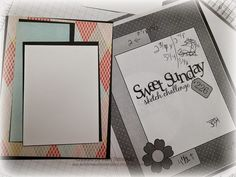 "airbornewife's stamping spot: 24 cards from one Authentique 6 x 6 Paper Pad ""CELEBRATE YOUR DAY!"""