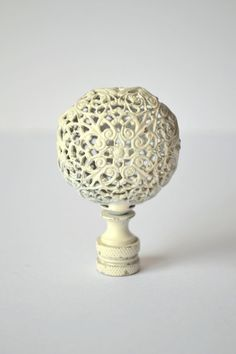 Finials For Lamps Captivating Lamp Golf Ball Finialbrassreneesonmain On Etsy  Lamp Finials