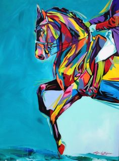 Dressage by artist Mark Grice Awesome Art, Cool Art, Dressage, Beautiful Horses, Lovers Art, Arts And Crafts, Doodles, Abstract, Decoration