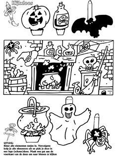 Halloween - Kijkdoos