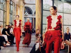 Moa Ao Zhang, pre-fall 2015 collection IFA Paris graduate fashion show 2014