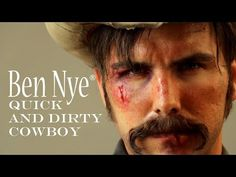 Halloween tips for a Quick and Dirty Cowboy from Ben Nye - YouTube