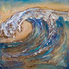 Giant Wave-acrylic