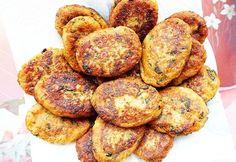 Chifteluțe de LINTE și VERDEȚURI – rețetă de post Turkish Recipes, Ethnic Recipes, Veggie Recipes, Healthy Recipes, Vegan Dishes, Good Food, Food And Drink, Meals, Vegetables