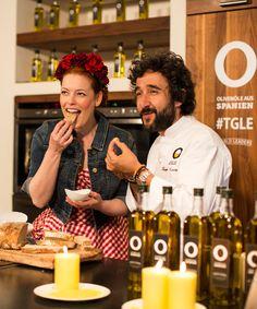 Dreamteam: Enie van de Meiklokjes und Diego Guerrero kochten gemeinsam bei der #TGLE Berlin von Olivenöle aus Spanien