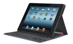 Logitech Solar Keyboard Folio, una funda con teclado para iPad