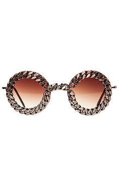 Untitled & Co Sunglasses The Wildmoon x Untitled & Co Gold Chain in Gold