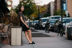 Yesenia Linares (The Locals) Head To Toe, The Locals, Street Style Women, Cool Kids, Mini Skirts, Style Inspiration, Clothes, Copenhagen, Woman
