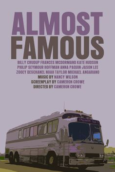 Cameron Crowe Movie Poster Set: Jerry Maguire / Almost Famous