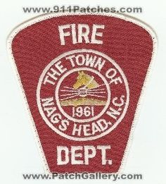 North Carolina - Nags Head Fire Dept - PatchGallery.com Online Virtual Patch Collection By: 911Patches.com - Fire Departments EMS Ambulance Rescue Police Sheriffs Depts Offices Law Enforcement Military and Public Safety Patches Emblems and Logos