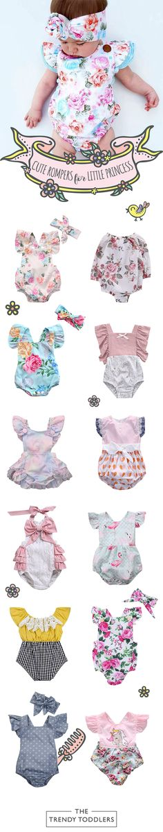 UP TO 70% OFF + FREE SHIPPING! Shop our entire collection of cute baby & toddler rompers at thetrendytoddlers.com.