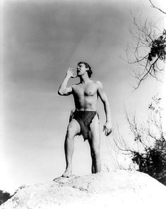 Johnny Weissmuller in Tarzan and His Mate