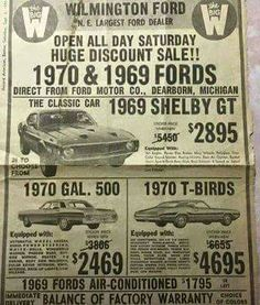 1969 Shelby GT for sale Old Advertisements, Car Advertising, Bicicletas Raleigh, Mustang Cobra, Pink Mustang, Mustang Logo, Ford Shelby, Ford Galaxie, Ford Classic Cars