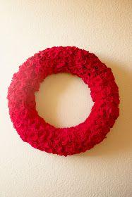 How to Make a Rose Wreath DIY