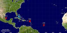 ÚLTIMA HORA: La tormenta tropical Katia se forma frente a México