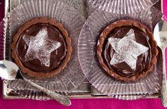 Chocolate star tarts recipe - goodtoknow