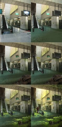 Abandoned Station - steps by sandara