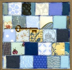 Paper Quilt by Michaela Laurie Simple Amish style quilt Paper Quilt, Amish, Quilting, Blanket, Simple, Cards, Fat Quarters, Blankets, Maps